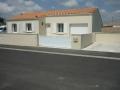 Maison, vue de la rue