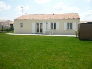 Maison 70 m2 extérieur Saujon